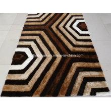 Hochwertige Polyester Modern Shaggy Teppiche mit 3D Effekt