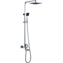 Solid Brass Sanitary Ware Square Bathroom Shower Mixer (1010)