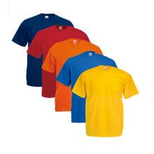100% Baumwolle Colorfully Camiseta Plain Shits Regular Fit Shirts