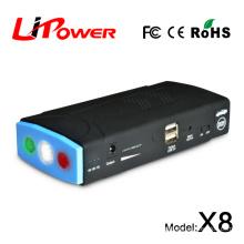2015 new design product car emergency starter portable battery charger micro-start jump starter 13600mAh