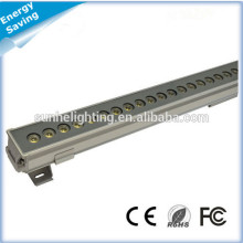 Kundenspezifische Länge Professionelle dmx rgb LED-Wand-Waschmaschine mit hoher Qualität für Brückenbeleuchtung verwendet