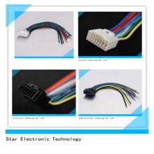 Alta qualidade do chicote de fios estereofónico elétrico do fio do conector do rádio do Pin do carro 16 do ISO para o Alphine
