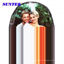 Roche de sublimation de photo vide enduite par galaxie de haute qualité pour la décoration