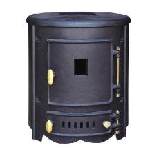 Estufa de hierro fundido, estufa de leña (FIPA018)