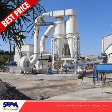 Barite, usine de machine de calcination de gypse d'application de dolomite pour l'Indonésie