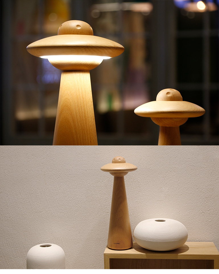 Application Bedroom Wooden Table Lamps