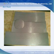 Plaque ondulée poreuse en acier inoxydable, électrode métallique Filtre en métal
