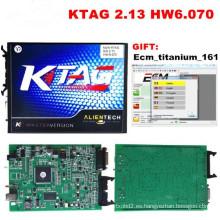 Ktag maestro de herramienta de programación ECU V2.13 ECU Chip no Tuning Token limitado Fw V6.070
