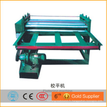 Machine à l'étalage de tôle métallique automatique à simple couleur à bas prix