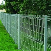 clôture incurvée de grillage galvanisée soudée enduite de PVC