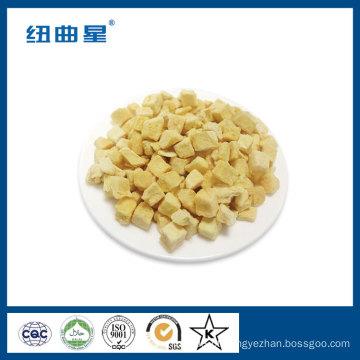Fruta série FD sabor crocante pêssego amarelo liofilizado