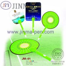 Le stylo en plastique de Promotiom multifonctionnel Jm-01 avec un Fan