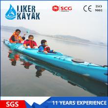 Caiaque do barco de competência da casca de 5,5 m LLDPE