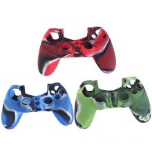 Cool Protective Skin Camouflage Soft Silicone Cover Case For Sony Playstation 4 PS4 for Dualshock 4 Controller Console Decals