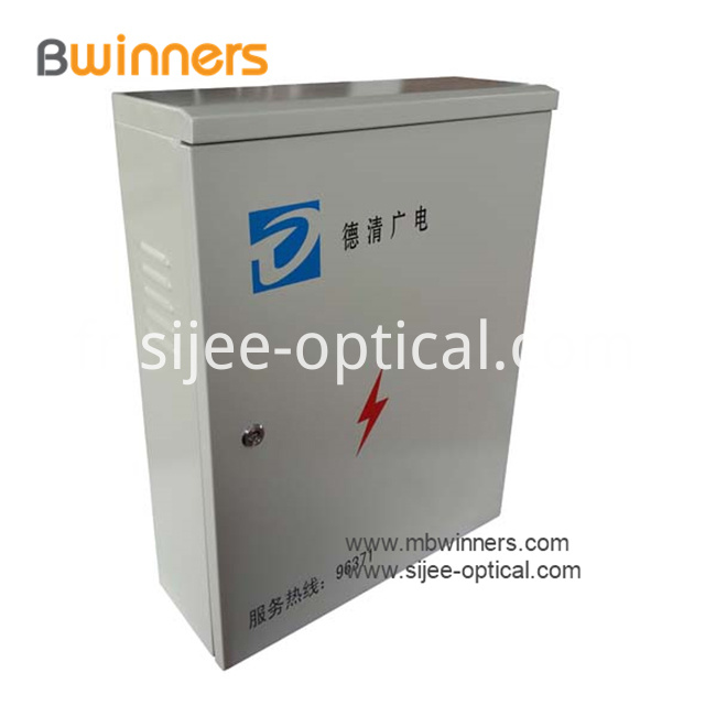 Outdoor FTTH Splitter Fiber Distribution Cabinet