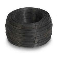 Черная проволока с большой спиральной катушкой для строительства (SGS и CE)