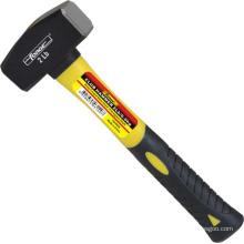 OEM de cabeça de aço forjado gota do martelo do clube das ferramentas da mão