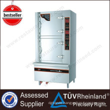 Commercial Restaurant Equipment 2 Doors With Single Controller Electric Seafood Steamer