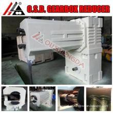 caixa de engrenagens de transmissão automática para extrusora de plástico caixa de engrenagens cônica dupla rosca