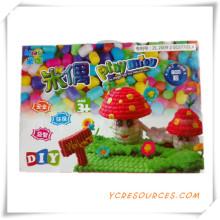 Regalo 2015promotional para los niños DIY Set DIY Toy DIY mosaico arte con piedras preciosas3d juguete educativo de los niños DIY (TY08007)