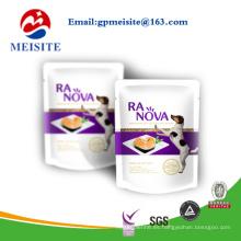 Diseño personalizado Bolso de empaquetado plástico del alimento del animal doméstico / bolso del alimento de perro / bolsos del alimento de gato