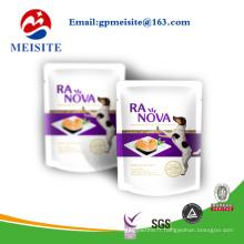 Emballage en plastique de conception personnalisée Sac de nourriture pour animaux / sac de nourriture pour chien / sacs pour aliments pour chats