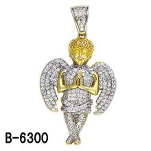 Colgante de ángel de configuración micro de plata esterlina 925