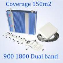 Мобильный телефон Dual Band 900 / 1800MHz GSM сигнал Booster для GSM WCDMA Главная Используется Repeater