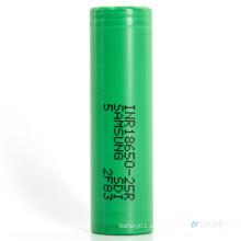 Corrente de descarga 25A para bateria recarregável Li-ion Samsung-25r