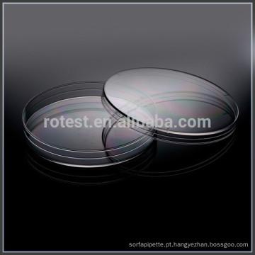Placas de Petri de 90mm altura 15mm