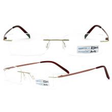 Titanium Rimless Eyeglasses (BJ12-302)