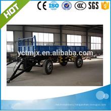 2017 Hot Sale Trucks And Trailers Agricultural Hydraulic Tractor Tipping Trailer