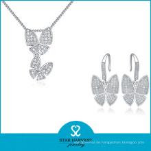 Neue Ankunfts-Qualitäts-Silber-Geschenk-Schmucksachen (J-0077)