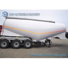 3 Axles 34 M3 Dry Bulk Power Cement Tank Truck Trailer