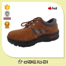 2015 melhor venda de couro de camurça bom baixo preço leve sapatos de segurança