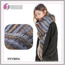 2015 Winter Warm Ladies Jacquard Gradient imitación cachemir bufanda cuadrada