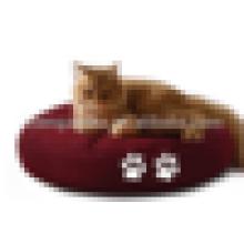 Cojín redondo del gato cómodo del animal doméstico del estilo popular para dormir del gato