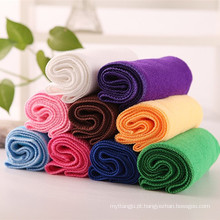 Super macio 80 poliéster 20 poliamida toalha de microfibra, tamanho de toalha de rosto, personalizado rosto toalha aliexpress promoção atacado