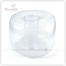 PVC Inflatable Neck Air Pillow for Traveling 40X30cm