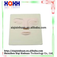 Piel de la práctica del maquillaje del tatuaje permanente de la alta calidad 3D, piel práctica de la piel de la cara 3D