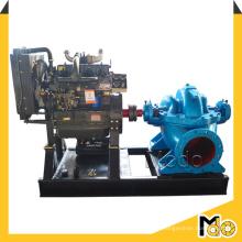 Pompe à eau diesel de cas fendue de double aspiration centrifuge