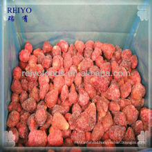 Bulk frozen strawberries