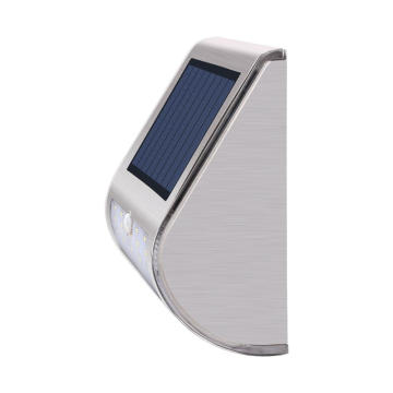 Lampu dinding surya Waterproof Motion Sensor Cahaya Outdoor