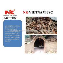 Eucalyptus charcoal for BBQ/ Smokeless charcoal / odorless white charcoal