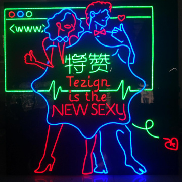 GROSSE LED NEON SIGN BOARD