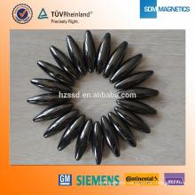 Epoxy Coated N35 Olive Shaped Neodymium Magnet