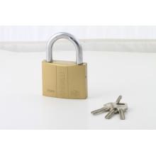 3 Steel Atom Keys Double Line Locks Shape Laminated Padlock