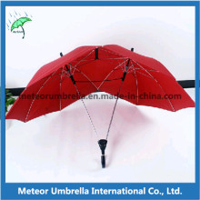 Transparent Color Clear See Through PVC Dance Promotion Logo Umbrella