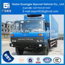 Dongfeng mini nevera heladería camión de gran volumen refrigerado van camión