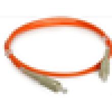 SC multimodo cabo de fibra óptica patch, sc upc / apc SX DX fibra jumper com melhor preço